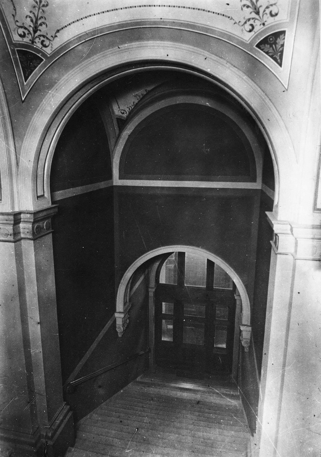 izvorno stubište JAZU